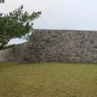 一の郭東側の石垣