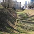 三の丸の空堀