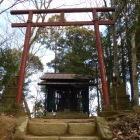 飯縄曲輪に建つ飯縄神社