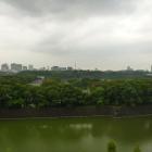 帝劇ビル9階から見た江戸城