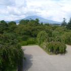 天守から見た岩木山