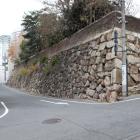 石山門跡横の石垣