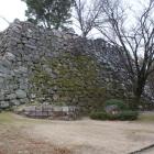 大納戸櫓下の石垣