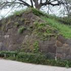 麹町口すぐの四谷見附の石垣