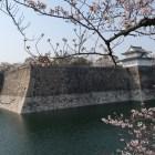 桜越しの一番櫓
