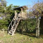 善福寺曲輪にある現代風物見櫓