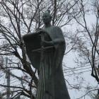 高岡城と同じ形だったドン・ジュスト像