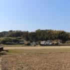 城山遠景(東から)