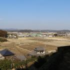 城から北東の眺め