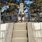 資忠さんのお墓。