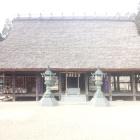 兵主神社拝殿。正面から。