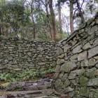 階段と石垣