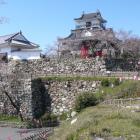 富士見櫓跡から望む