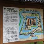 鶴ヶ岡城説明板
