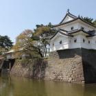 木造復元辰巳櫓と本丸御門
