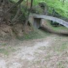 本曲輪横堀に掛かる橋