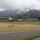 本曲輪残雪の山々