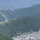 城と山と城下町