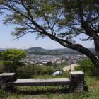 岩村歴史資料館から岩村の街並み