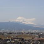 本丸からは富士山が見えました