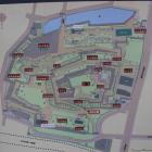 舞鶴城公園地図