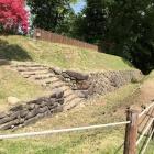 本丸西(乾)櫓台 石段