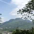 捨曲輪跡から望む赤城山