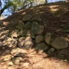 本丸西(乾)櫓台 石垣