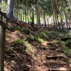 主郭への登り口