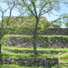 段築の天守台石垣