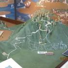 安土城郭資料館の模型