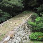 二の丸竪石垣