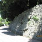 西三の丸下の石垣