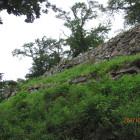 山上の丸の本丸石垣