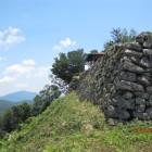 本丸北側石垣