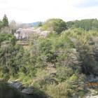 長篠城全景