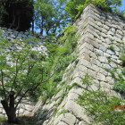 二の丸南側石垣