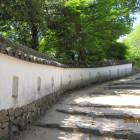 城南側現存土塀内側