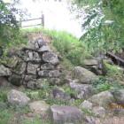 山上の丸の天守櫓石垣