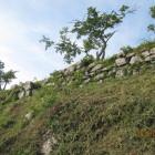 本丸西側石垣