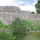本丸石垣西側