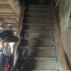 坤櫓の2階の階段