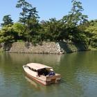 堀川の遊覧船