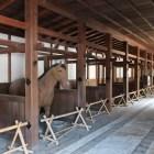 馬屋。城内に残っているのは彦根城だけなんだとか