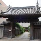 大立寺に移築された大門