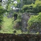 表門の登り石垣