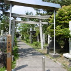 福島城に縁のある湊八幡宮
