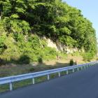二ノ丸南面と堀跡