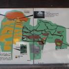 八幡公園案内図