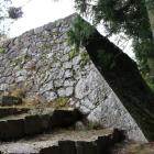 埋門西側の石垣